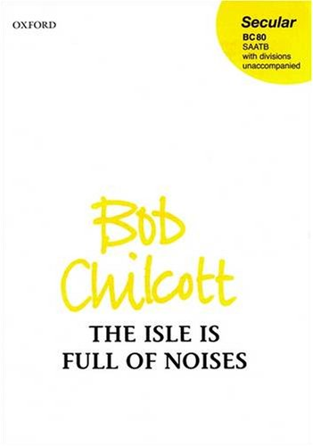 9780193355422: The Isle is Full of Noises: Vocal score