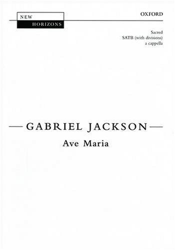 9780193355491: Ave Maria: Vocal score (New Horizons) (English and Latin Edition)