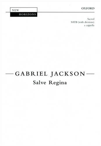 9780193355552: Salve Regina: Vocal score (New Horizons) (English and Latin Edition)