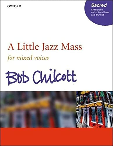 9780193356177: A Little Jazz Mass SATB: Vocal score