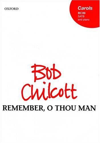 9780193356351: Remember, O thou man: Vocal score