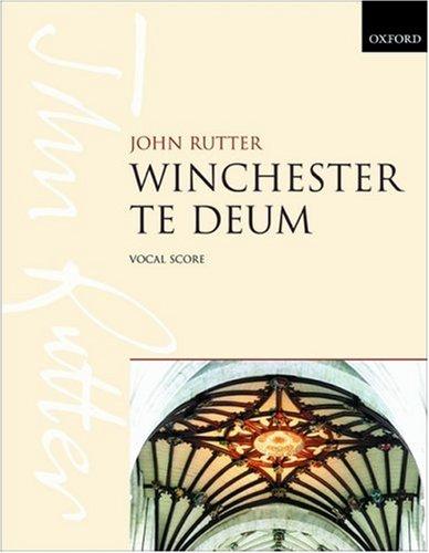 9780193356894: Winchester Te Deum: Vocal Score