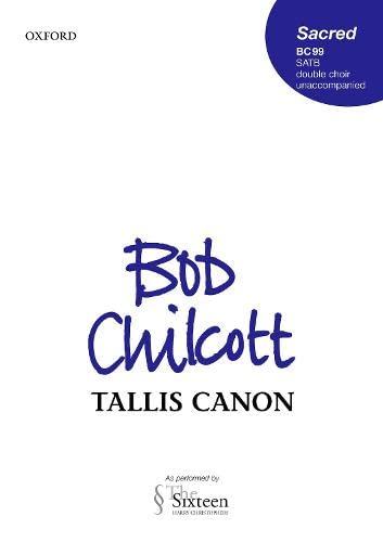 9780193357129: Tallis Canon: Vocal score