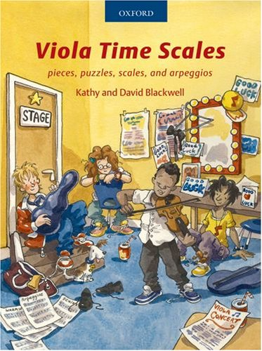 9780193358942: Viola Time Scales: Pieces, puzzles, scales, and arpeggios