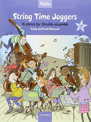 9780193359130: String Time Joggers Violin book + CD 14 pieces for flexible ensemble (String Time Ensembles)