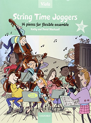 9780193359147: String Time Joggers Viola book + CD: 14 pieces for flexible ensemble