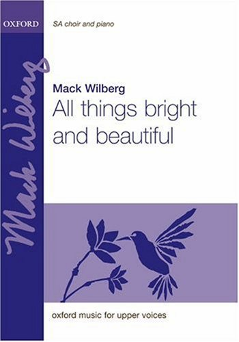 9780193359260: All things bright and beautiful: Vocal score (piano 2 hands version)