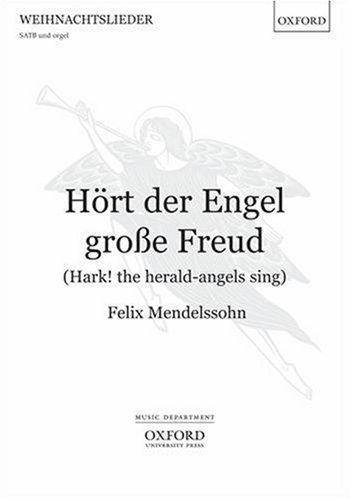 9780193359376: Hoert der Engel grosse Freud (Hark! the herald-angels sing): Vocal score (German Edition)