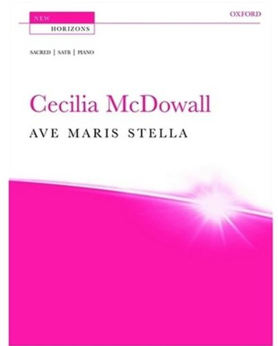 9780193359499: Ave maris stella: Vocal score (New Horizons)