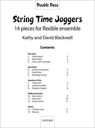 9780193359703: String Time Joggers Double Bass part: 14 pieces for flexible ensemble