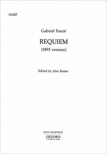 9780193360983: Requiem (1893 Version): Set of String Parts (Contains 1 Vn Solo, 1 Db, 2 of All Others)