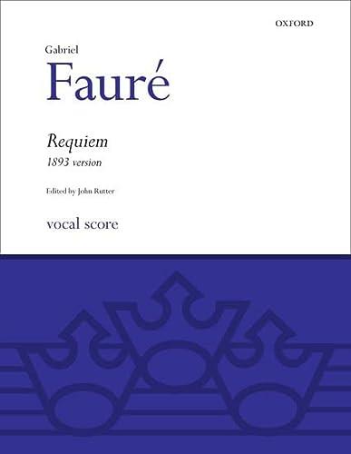 9780193361027: Requiem (1893 Version): Full Score