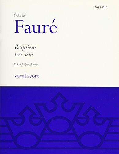 9780193361034: Requiem (1893 Version): Vocal Score (Oxford choral music)