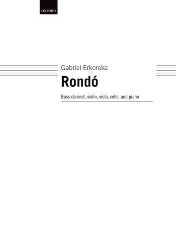 9780193362765: Rond�: Score and parts