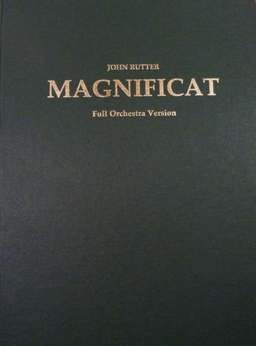 9780193364783: Magnificat: Full score - orchestral version