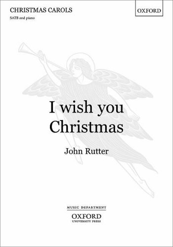 9780193364929: I wish you Christmas: Vocal score