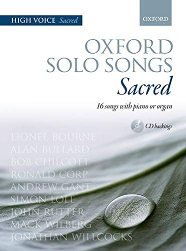 9780193365810: Oxford Solo Songs: Sacred: 16 songs with piano or organ