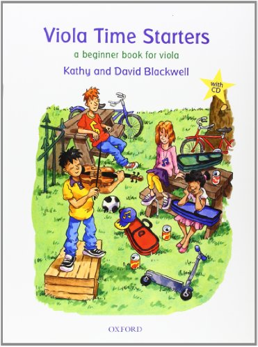 9780193365827: Viola Time Starters + CD: A beginner book for viola