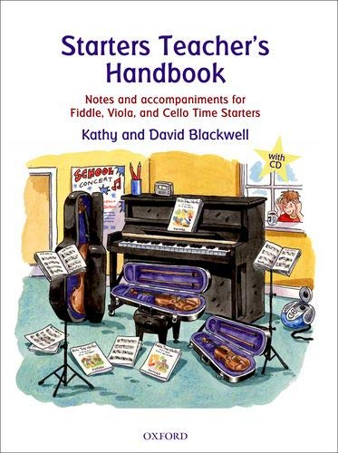 9780193365858: Starters Teacher's Handbook: Notes and accompaniments for Fiddle, Viola, and Cello Time Starters (All String Time)