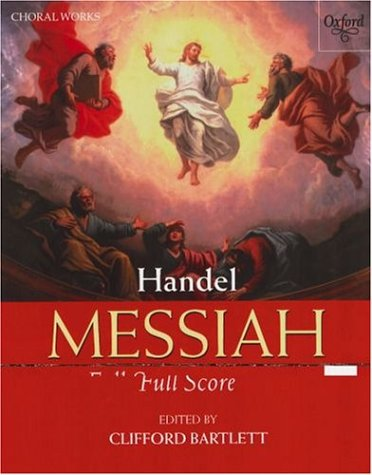 9780193366671: Messiah: Full score (Classic Choral Works)