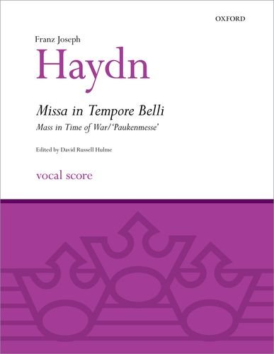9780193367920: Missa in Tempore Belli (Mass in Time of War/Paukenmesse): Vocal score (Classic Choral Works)