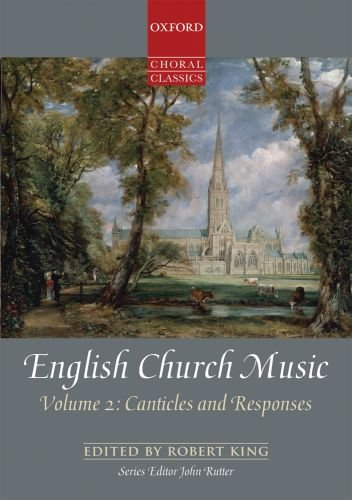 9780193368446: English Church Music, Volume 2: Canticles and Responses: Vocal score