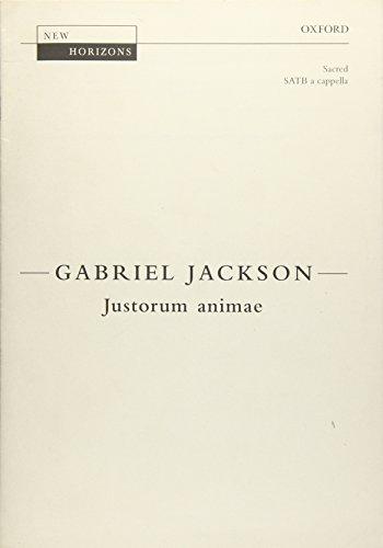 Justorum animae: Vocal score