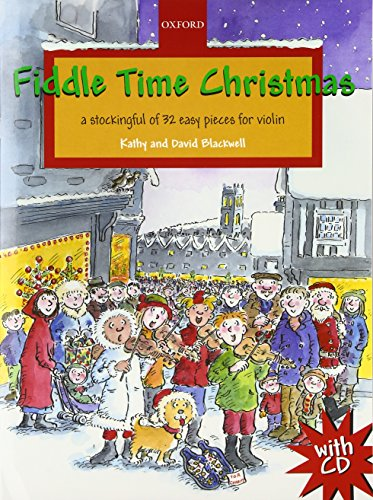 9780193369337: Fiddle Time Christmas + CD: A stockingful of 32 easy pieces for violin