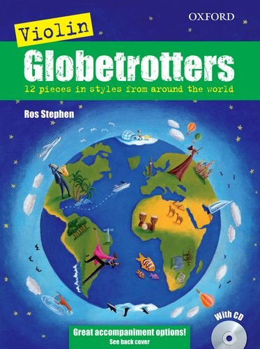 9780193369443: Violin Globetrotters + CD (Globetrotters for strings)