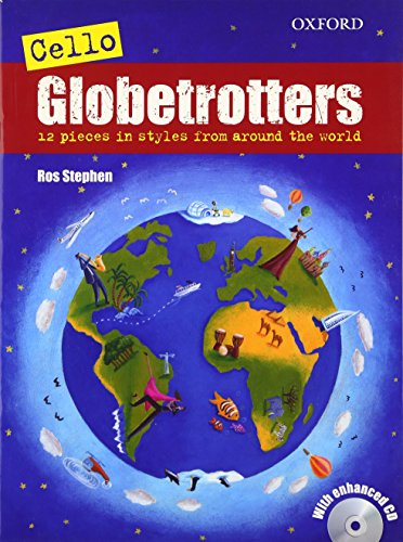 9780193370043: Cello Globetrotters + CD (Globetrotters for strings)