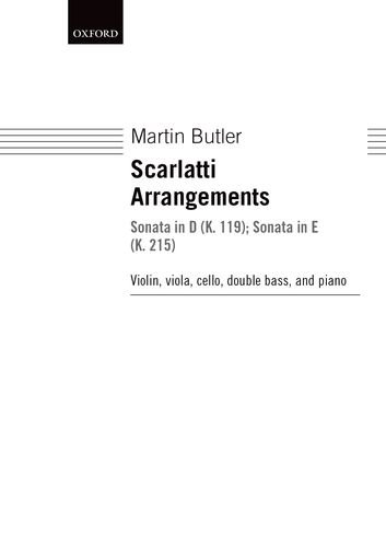 9780193371743: Scarlatti Arrangements: Sonata in D (K. 119); Sonata in E (K. 215)