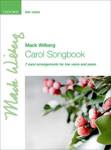 9780193372009: Carol Songbook: Low voice: 7 carol arrangements for low voice and piano