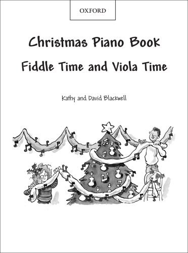 9780193372269: Fiddle Time and Viola Time Christmas: Piano Book