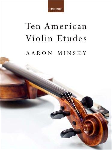 9780193372887: Ten American Violin Etudes