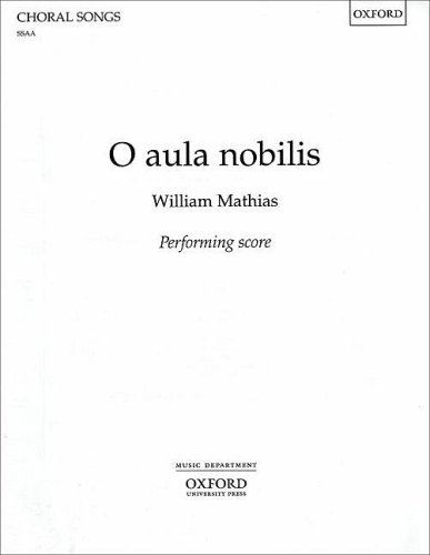 9780193374416: O Aula Nobilis (Performing Score S.S.A.A.) (English and Latin Edition)