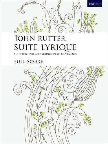 Suite Lyrique: Study score: John Rutter