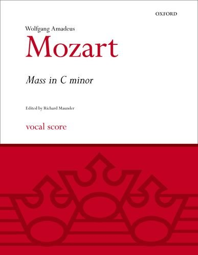 9780193376144: Mass in C minor: Vocal score