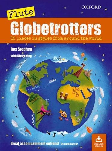 9780193376854: Flute Globetrotters + CD (Globetrotters for wind)