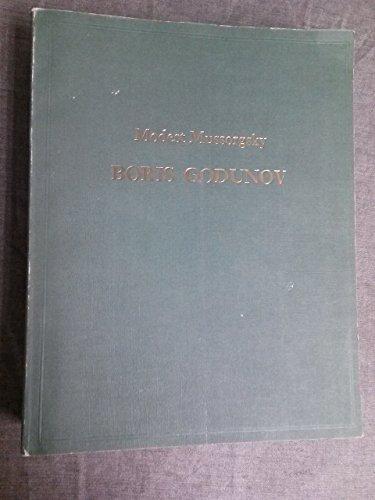 9780193377004: Boris Godunov: Full score in three languages