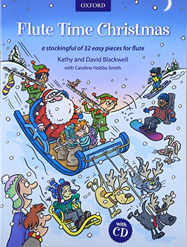 9780193379275: Flute Time Christmas + CD: A stockingful of 32 easy pieces