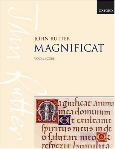 9780193380370: Magnificat: Vocal score