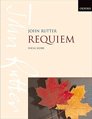 9780193380707: Requiem: Vocal score