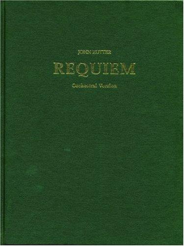 Requiem: Full Score (Orchestra)