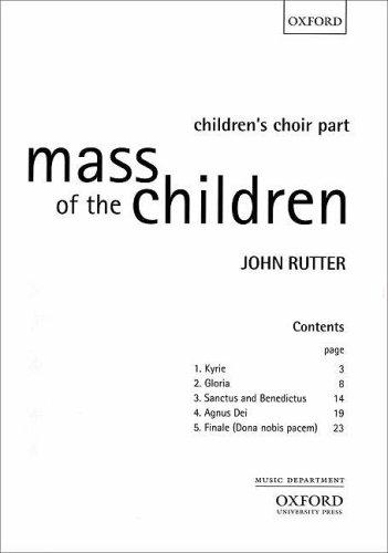 9780193380950: Mass of the Children: Children's choir part