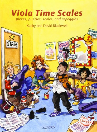 9780193385917: Viola Time Scales: Pieces, puzzles, scales, and arpeggios