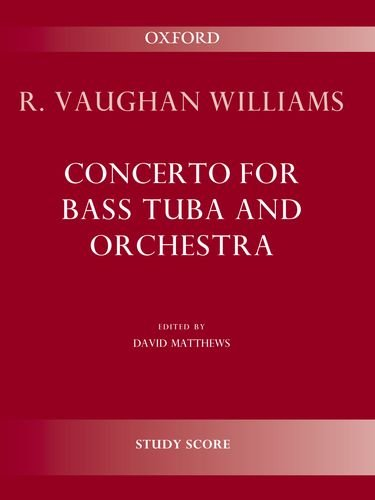 9780193386754: Concerto for bass tuba and orchestra: Study score