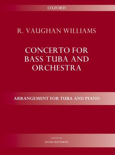 9780193386761: Concerto for bass tuba and orchestra: Arrangement for tuba and piano