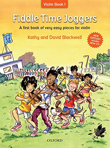 9780193386778: Fiddle Time Joggers + CD: A first book of very easy pieces for violin