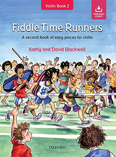 9780193386785: Fiddle Time Runners + CD: A second book of easy pieces for violin
