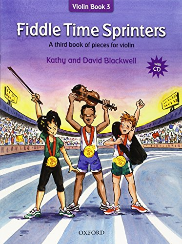 9780193386792: Fiddle Time Sprinters + CD: A third book of pieces for violin